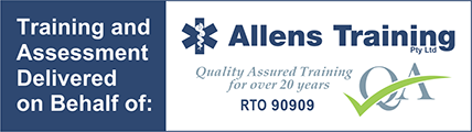 Allens Training Partnership Logo